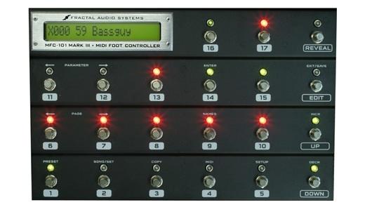アンプシミュレータ fractal audio systems mfc 101 mk iii rock on