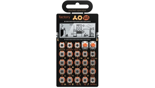 Teenage Engineering PO-16 factory