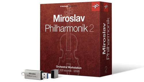 IK Multimedia Miroslav Philharmonik 2 ダウンロード版