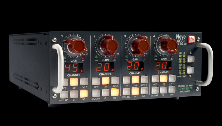 マイクプリ AMS NEVE 4081 Quad ...