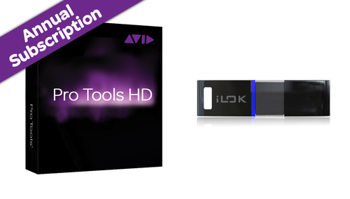 Avid Pro Tools HD - Annual Subscription (with iLok) ★Pro Tools12.6 発表!
