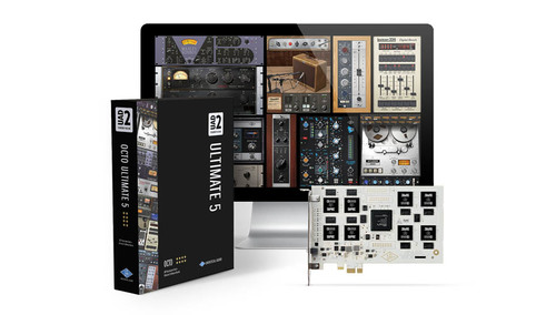 Universal Audio UAD-2 OCTO ULTIMATE 5 ★在庫限り、最終特価!