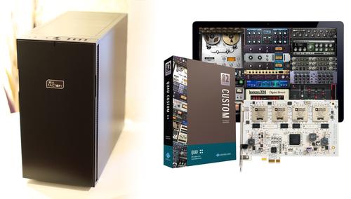 OM Factory ARMSTRONG + UAD-2 QUAD CUSTOM ★UAD2とHDDのアップグレードチャンス!! 残りわずか!