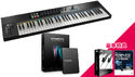 Native Instruments KOMPLETE KONTROL S61 + KOMPLETE 11 ULTIMATEバンドル! の通販