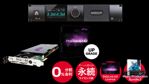 ROCK ON PRO PT to PTHD + HDX + Symphony I/O Mk II HD 8×8