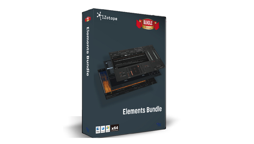 iZotope Elements Bundle ★在庫限り特価!