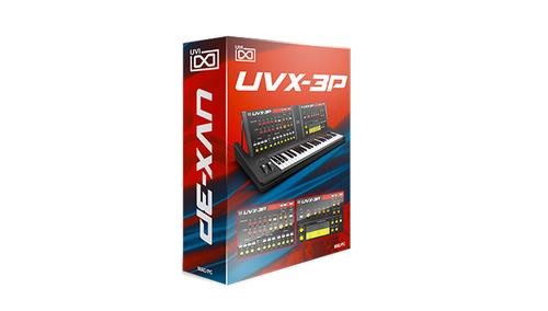 UVI UVX-3P ★音楽の日セール!50%オフ特価!在庫限り!