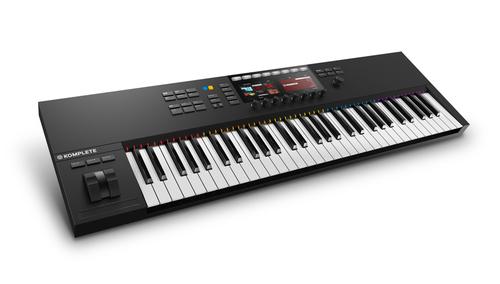 Native Instruments KOMPLETE KONTROL S61 MK2 ★ピアノ音源&エクスプレッションペダルプレゼント!