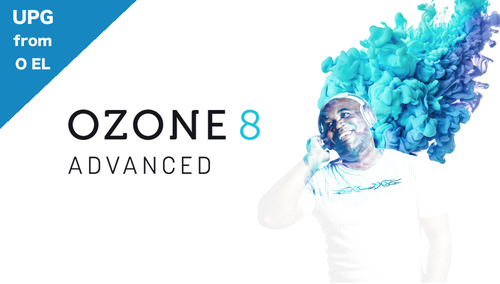 iZotope Ozone 8 Advanced アップグレード【対象:Ozone Elements】 ★Music Production Month campaign