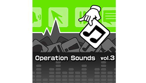 POCKET Sound Effect OPERATION SOUNDS VOL.3 ★発売記念40%OFF!10月31日まで!