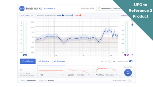 Sonarworks UPGRADE Reference 3 to Reference 4 - download ★期間限定57%オフ!