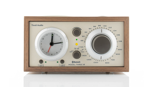Tivoli Audio Model Three BT クラッシック・ウォールナット/ベージュ