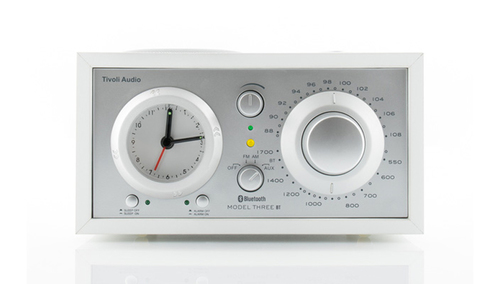 Tivoli Audio Model Three BT ホワイト/シルバー