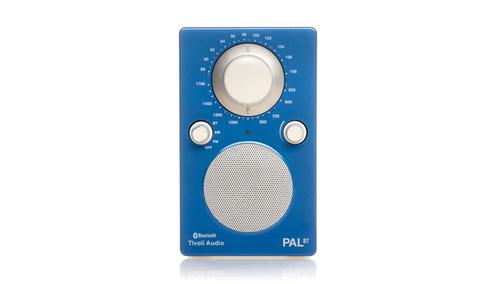 Tivoli Audio PAL BT ブルー/ホワイト