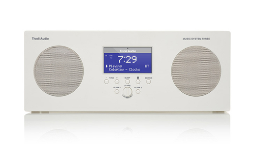 Tivoli Audio MUSIC SYSTEM THREE BT ホワイト