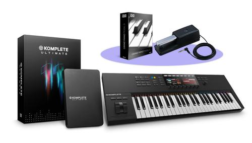 Native Instruments KOMPLETE KONTROL S49 MK2 + KOMPLETE 11 ULTIMATEバンドル! ★Thanksgiving XXLキャンペーン特別バンドル