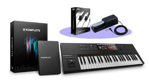 Native Instruments KOMPLETE KONTROL S49 MK2 + KOMPLETE 11バンドル! ★SUMMER OF SOUNDキャンペーン特別バンドル!