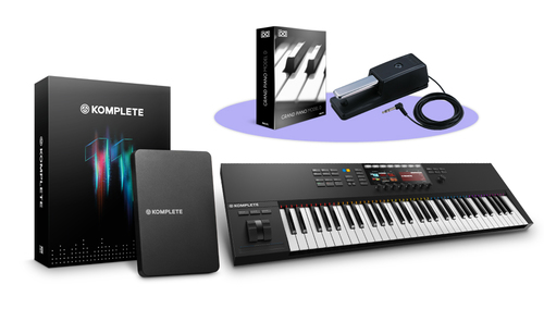 Native Instruments KOMPLETE KONTROL S61 MK2 + KOMPLETE 11バンドル! ★Thanksgiving XXLキャンペーン特別バンドル