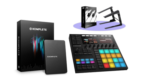 Native Instruments MASCHINE MK3 + KOMPLETE 11バンドル! ★Thanksgiving XXLキャンペーン特別バンドル