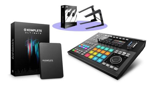 Native Instruments MASCHINE STUDIO Black + KOMPLETE 11 ULTIMATE バンドル! ★大決算ブランド市 第1弾!