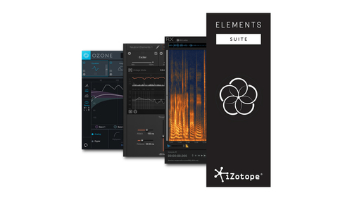 iZotope Elements Suite v1 ★在庫限り特価!さらに特典でNectar 3 Elementsがついてくる!