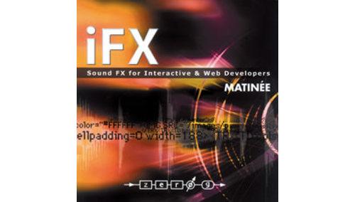 ZERO-G iFX Vol.2 MATINEE