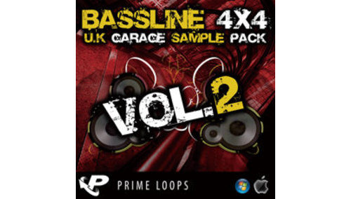 PRIME LOOPS BASSLINE 4X4 UK GARAGE 2