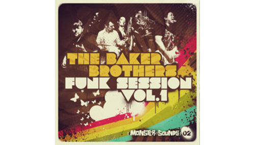MONSTER SOUNDS BAKER BROTHERS FUNK SESSION VOL.1