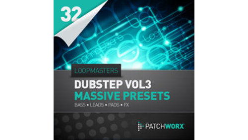 LOOPMASTERS LOOPMASTERS PRESENTS DUBSTEP SYNTHS V3 - MASSIVE