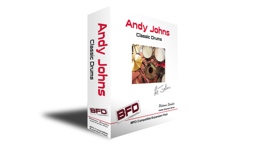 Platinum Samples BFD Andy Johns Classic Drums