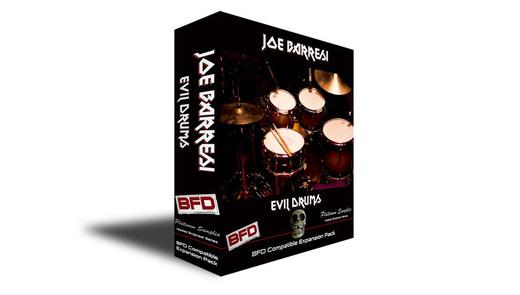 Platinum Samples Joe Barresi Evil Drums for BFD