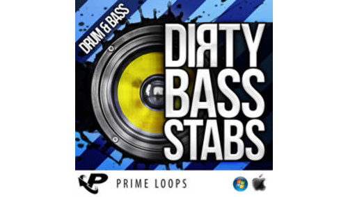 PRIME LOOPS DIRTY BASS STABS - D&B