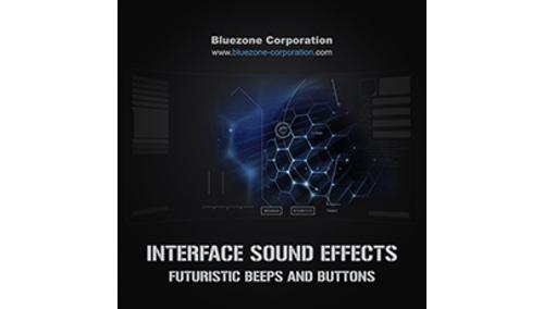 BLUEZONE INTERFACE SE FUTURISTIC BEEPS & BUTTONS