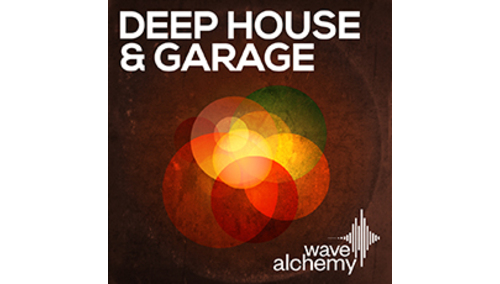 WAVE ALCHEMY DEEP HOUSE GARAGE LOOPMASTERSイースターセール!サンプルパックが50%OFF!