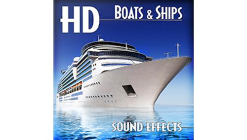 SOUND IDEAS HD BOATS & SHIPS