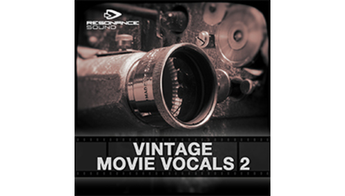 RESONANCE SOUND RESONANCE SOUND - VINTAGE MOVIE VOCALS 2