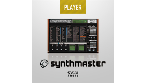 KV331 SYNTHMASTER - PLAYER