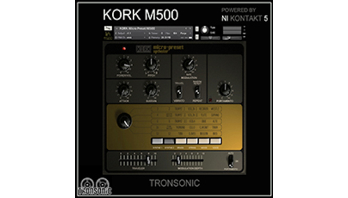 TRONSONIC KORK M500 MICRO PRESET