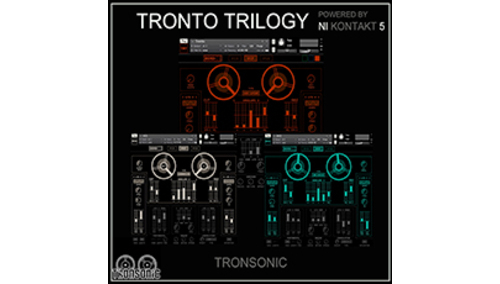 TRONSONIC THE TRONTO TRILOGY V1
