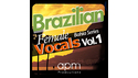 APM PRODUCTIONS BRAZILIAN FEMALE VOCALS. VOL.1 の通販