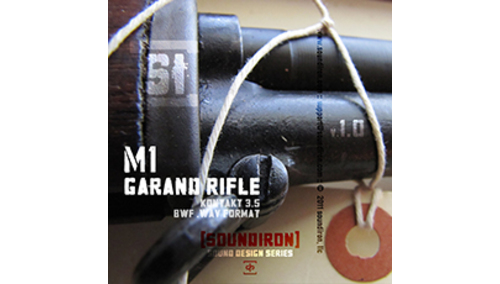 SOUNDIRON M1 GARAND RIFLE