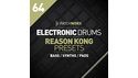 LOOPMASTERS ELECTRONIC DRUMS REASON KONG PRESETS の通販