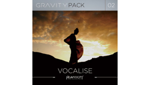 HEAVYOCITY GRAVITY PACK 02 - VOCALISE HEAVYOCITY THANKSGIVING SALE 最大50%OFF!