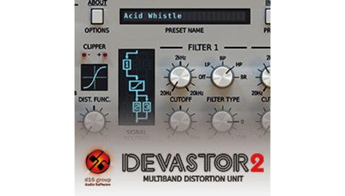 DEVASTOR 2 / MULTIBAND DISTORTION UNIT D16 Groupサマーセール!35%OFF