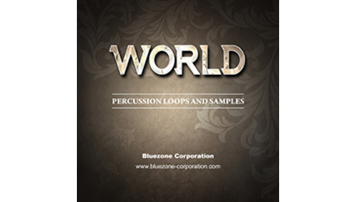 BLUEZONE WORLD PERCUSSION LOOPS AND SAMPLES
