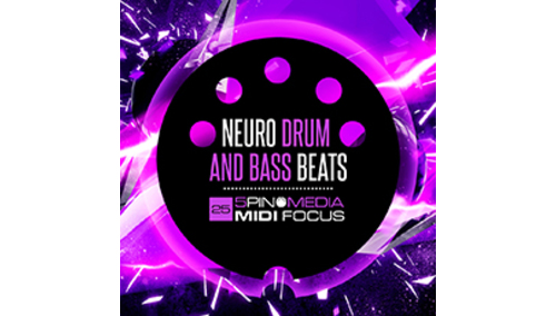 5PIN MEDIA MIDI FOCUS - NEURO DRUM & BASS BEATS