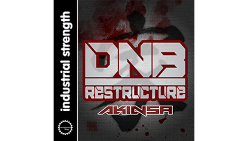 INDUSTRIAL STRENGTH AKINSA - DNB RESTRUCTURE LOOPMASTERSイースターセール!サンプルパックが50%OFF!