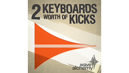 WAVE ALCHEMY 2 KEYBOARDS WORTH OF KICKS