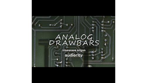 AUDIORITY ANALOG DRAWBARS