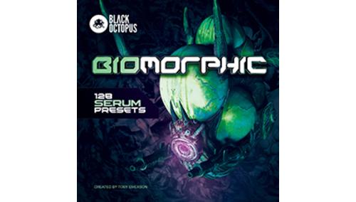 BLACK OCTOPUS BLACK OCTOPUS - BIOMORPHIC 128 SERUM PRESETS